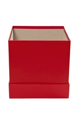 Red Empty Gift Box