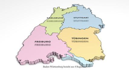 Baden Württemberg Animation Teil 2 von 3