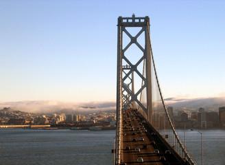 Oakland Baby Bridge in San Francisco
