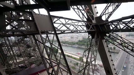 Eiffel Tower elevator