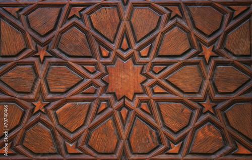 Poster Turkey Old Wooden Door Detail