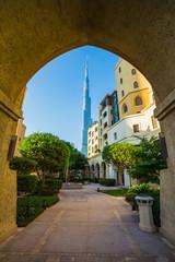 Burj khalifa, the highest building in the world