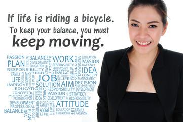 Business passion motto for self development