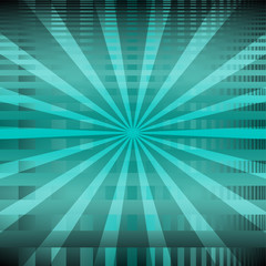 Ray theme abstract background