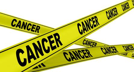 Рак (cancer). Заболевание. Желтая оградительная лента
