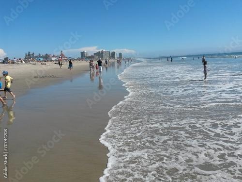 canvas print picture Spiaggia a Coronado