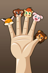 Puppet fingers