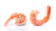 shrimps on a white background - 70744855