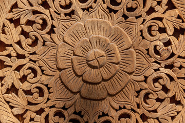 wood carved background