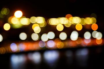 bokeh  city lights background