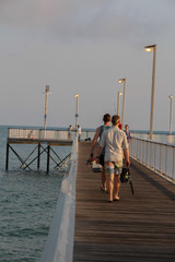 Fishing time at the Jetty
