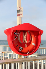 Life Buoy and Notice