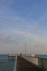 Jetty and Sky