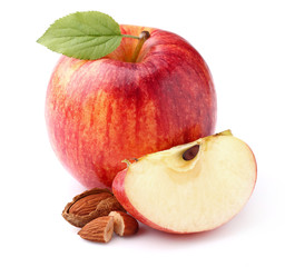 Apple with almond