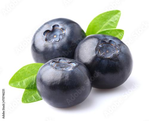 Blueberry in closeup © Dionisvera