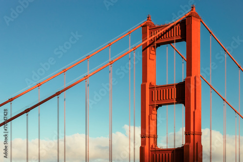 Golden Gate bridge, San Francisco, California, USA © lucky-photo
