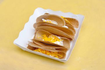 Thai Crispy Pancake on the paper box