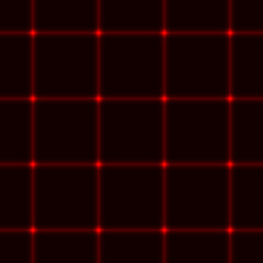 Red laser seamless grid