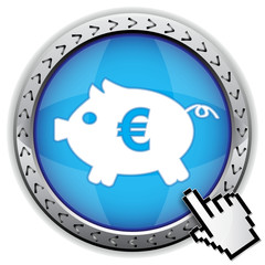 COIN BOX EURO ICON