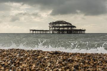 The West Pier in Brighton Beach