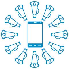 Smartphone With Loudspeaker