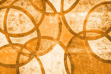 orangefarbener Hintergrund, vintage style