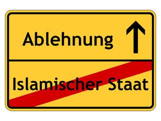 Ablehnung des Islamischen Staates