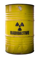 Barrel Of Nuclear Waste