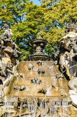 Nymphenbrunnen Wasserspiel