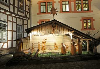 Weihnachtskrippe in Michelstadt