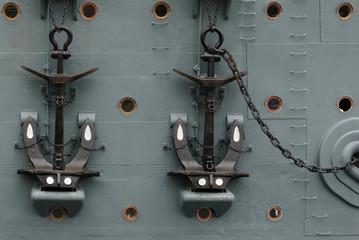 "Anchors on ""Aurora""."