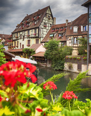 water canal in Colmar, France