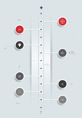 Infographics Timeline design .Template for reports