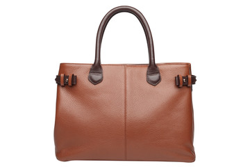Natural leather female purse