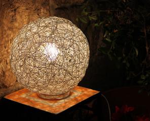 Outdoor Wire Lamp