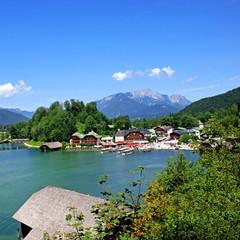 SCHÖNAU am Königsee ( Berchtesgadener Land )