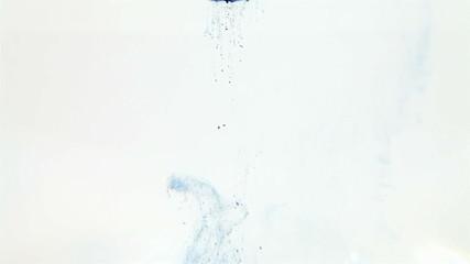 Water ink - blue