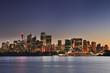 Sydney CBD Pan Cremorne Sunset