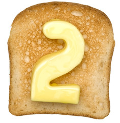 Toast with Butter Number