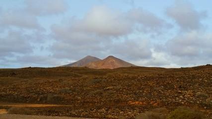 Fuerteventura montagna rossa