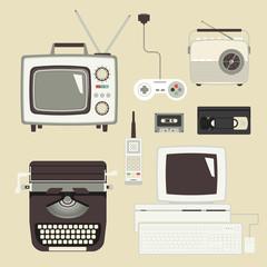 Retro devices set