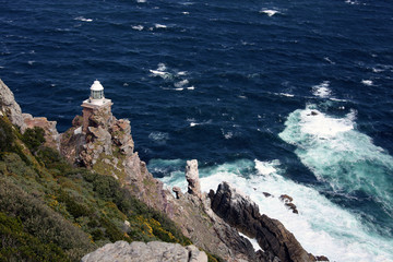 Lighthouse at the Cape of Good Hope. Маяк на мысе