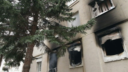 Effects of fire in the home