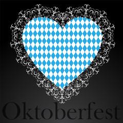 Bavaria flag as Heart icon