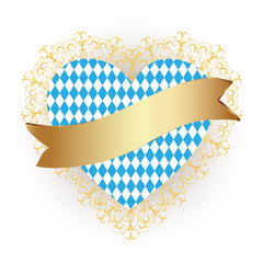 Bavaria flag as Heart icon