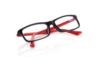 eyeglasses fashion isolated on white background