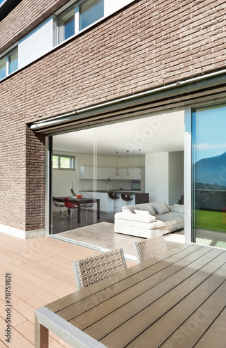 Architecture, modern house, outdoor - 70759821