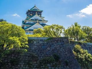 Osaka castle ,Japan