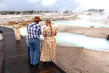Yellowstone National Park - Norris Geyser Basin