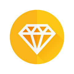 diamond flat icon